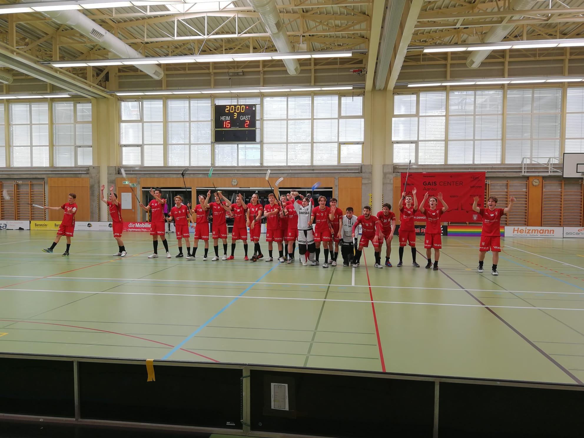 Junioren U21 | Drei verdiente Punkte