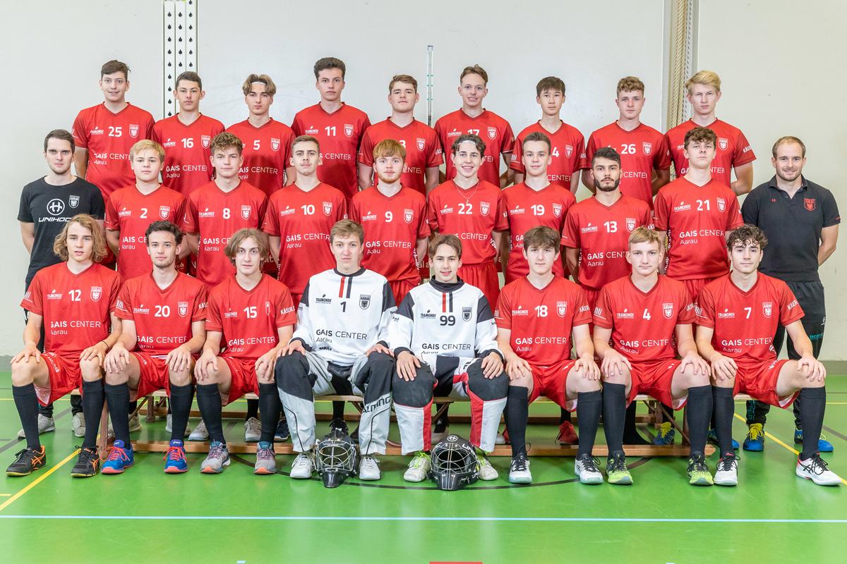 Junioren U21   3 Punkte im Kantonsderby gegen den UHC Obersiggenthal